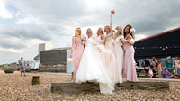 A gorgeous summer Beach Wedding at the stunning East Quay venue in Whitstable, Kent