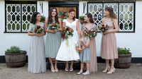 An Autumn boho wedding at the Plough in Leigh
