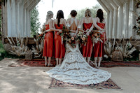 Boho Bride Tribe at The Wilderness Wedding Venue, at Preston Court near Canterbury in Kent