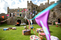 A Fabulous Game of Thrones themed Wedding at Manorbier Castle near Tenby in Wales
